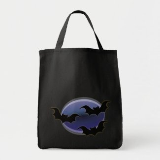 Halloween Canvas Bags for Trick or Treating