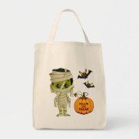 Halloween Bag-Mummy Boy Tote Bag