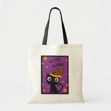 Halloween Themed Halloween Bag with Black Cat