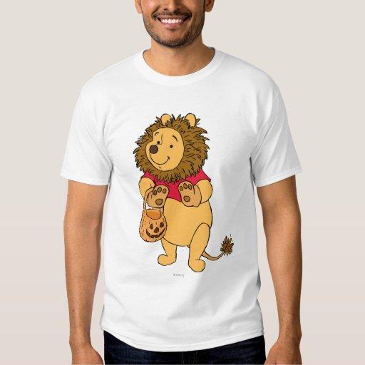 Halloween bah en traje del león remeras