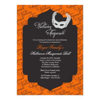 Halloween Ball Invitation