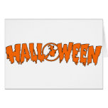 Halloween Banner Greeting Card