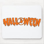 Halloween Banner Mouse Pad
