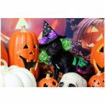 Halloween - barro amasado - margarita Mae Esculturas Fotograficas