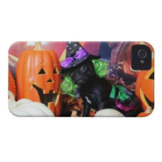 Halloween - barro amasado - margarita Mae Case-Mate iPhone 4 Protectores