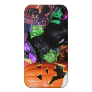 Halloween - barro amasado - margarita Mae iPhone 4/4S Carcasa