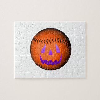 Halloween Baseball Jigsaw Puzzles