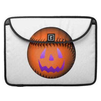 Halloween Baseball MacBook Pro Sleeve