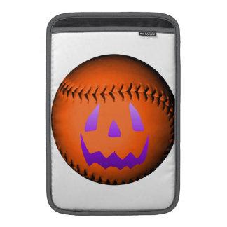 Halloween Baseball MacBook Sleeve