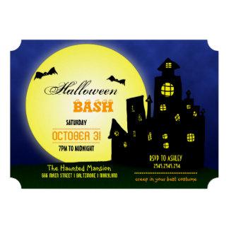 Halloween Bash Haunted Castle   Bats   Moon Announcements