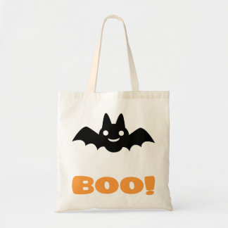 Halloween bat -Boo! Tote Bag