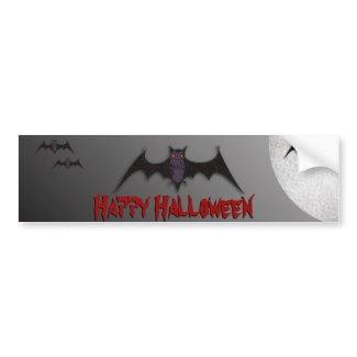 Halloween Bat Bumper Sticker bumpersticker