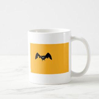 Halloween bat coffee mug