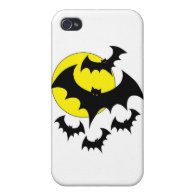 Halloween Bat Collection Cases For iPhone 4