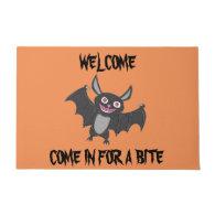 Halloween Bat Doormat