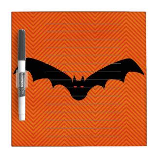 Halloween Bat Dry Erase Board
