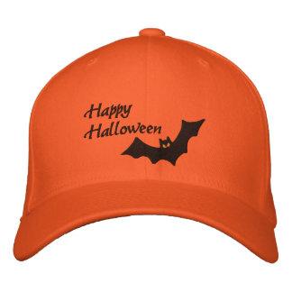 Halloween Bat Embroidered Hat
