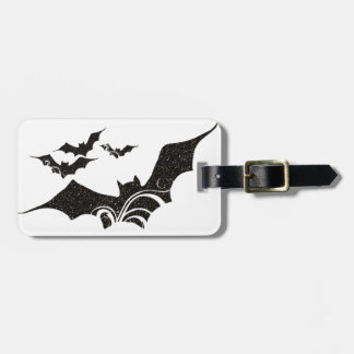 Halloween Bat Glitter Texture Design 1 Bag Tag