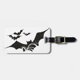 Halloween Bat Glitter Texture Design 1 Luggage Tags