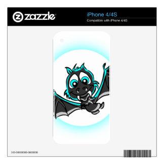 Halloween Bat iPhone 4 Decals