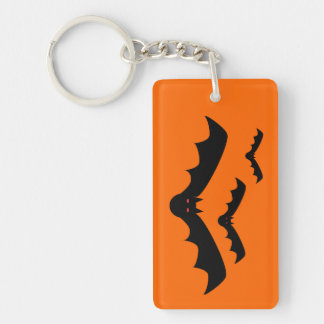 Halloween Bat Key Chain