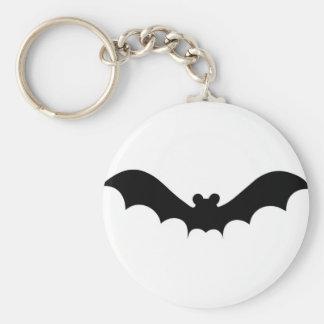 Halloween Bat Basic Round Button Keychain