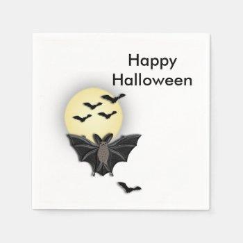 Halloween Bat Napkin