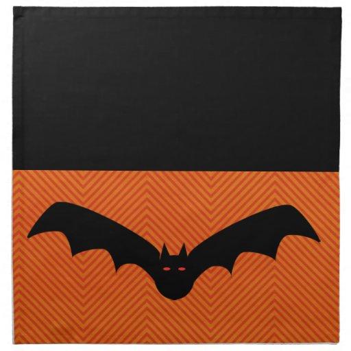 Halloween bat napkins zazzle for Halloween cloth napkins