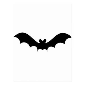 Halloween Bat Postcard