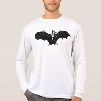 Halloween bat skeleton longsleeve T-Shirt