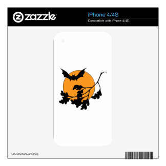 Halloween Bat Decal For iPhone 4