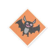 Halloween Bat Standard Cocktail Napkin