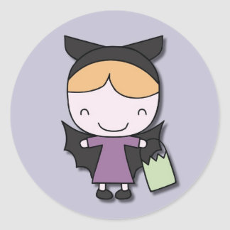 Halloween Bat Stickers