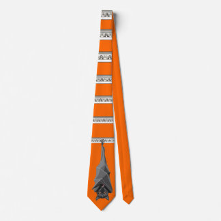 Halloween Bat Tie! Bat Lover! Fruit Bats! Neck Tie