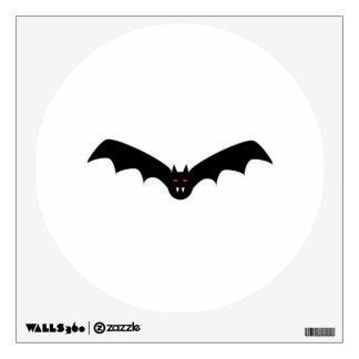 Halloween Bat with Fangs Room Sticker