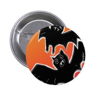 Halloween Bats 2 2 Inch Round Button