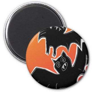 Halloween Bats 2 2 Inch Round Magnet