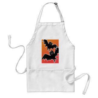 Halloween Bats 2 Adult Apron