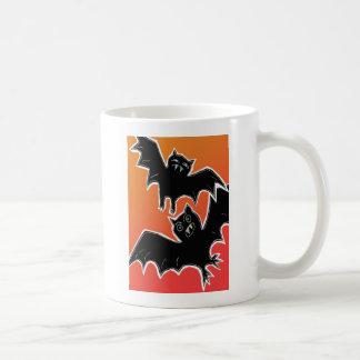 Halloween Bats 2 Classic White Coffee Mug