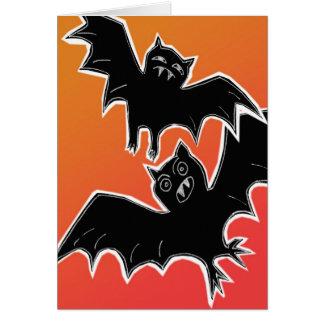 Halloween Bats 2 Greeting Card