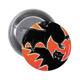 Halloween Bats 2 Inch Round Button