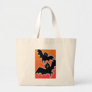 Halloween Bats 2 Jumbo Tote Bag