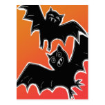 Halloween Bats 2 Post Cards