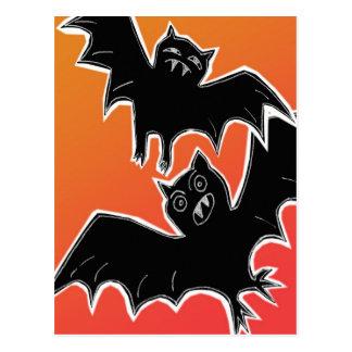 Halloween Bats 2 Postcard