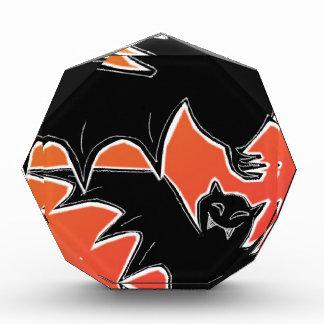 Halloween Bats Acrylic Award