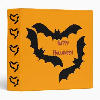 Halloween Bats Binder