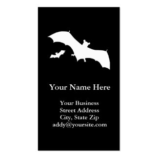 Halloween Bats Double-Sided Standard Business Cards (Pack Of 100)