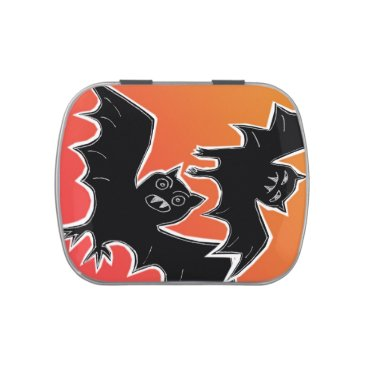 Halloween Themed Halloween Bats Candy Tin