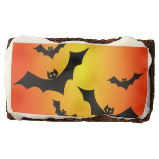 Halloween Bats Chocolate Brownie
