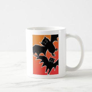 Halloween Bats Classic White Coffee Mug